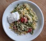 Couscous-Salat mit grünen Bohnen****