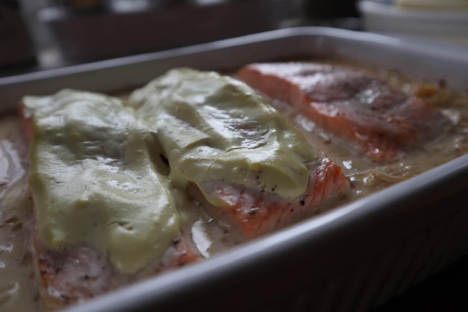 Sauerkraut mit Lachs*****