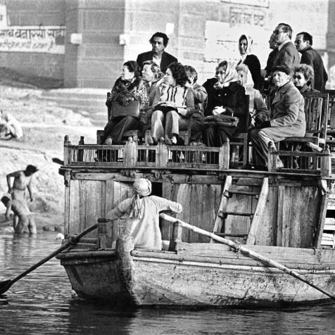 Ganges, Benares, Varanasi, 1976