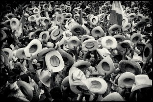 Guatemala, February 1982. Election campaign.