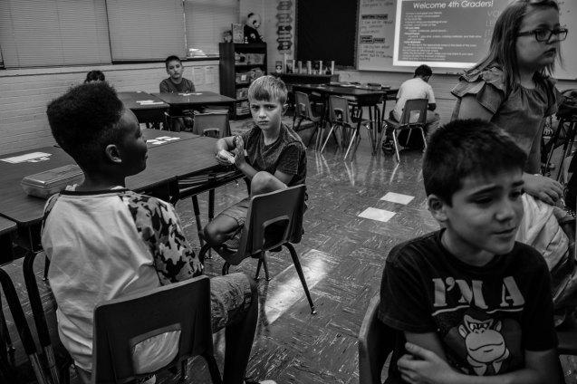 Beginning of 5th grade, Greensboro, NC