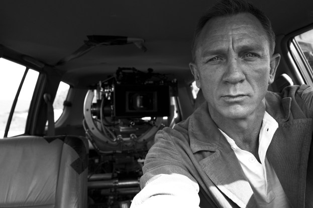 © Daniel Craig © Danjaq and MGM. NO TIME TO DIE, 007 and related James Bond Indicia © 1962–2020 Danjaq and MGM. NO TIME TO DIE, 007 and related James Bond Trademarks are trademarks of Danjaq. All Rights Reserved.