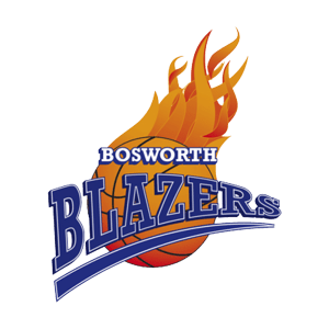 Bosworth Blazers Basketball Logo