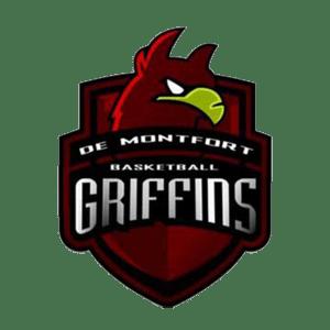 DMU Griffins Basketball Logo
