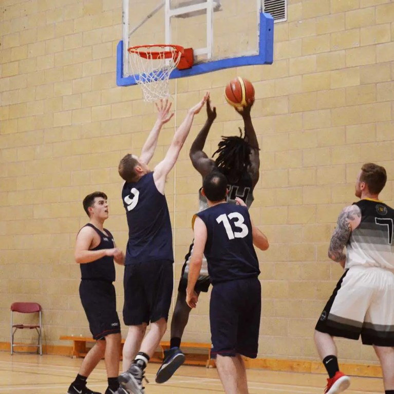 Open basketball training sessions