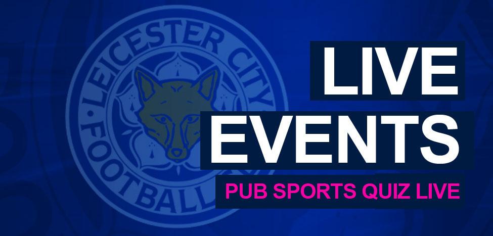 Events pub sport quiz