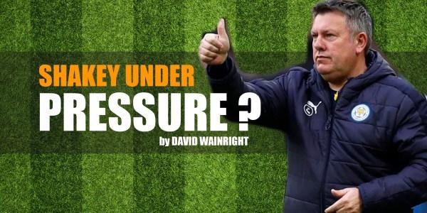 Shakey Under Pressure … or Not ?!