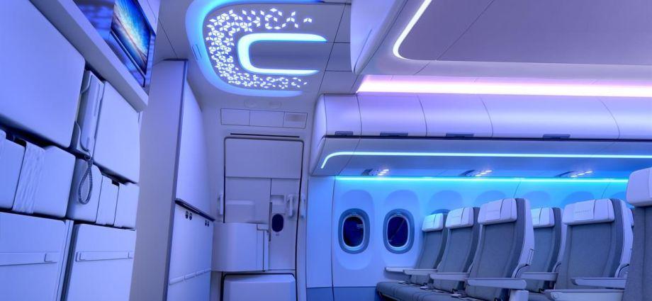 Neben den XL Bins und Deckenpaneelen entwickelt und fertigt FACC auch die Entrance Area der neuen Airspace Kabine für die A320 Familie.
