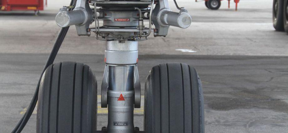 Flugzeugbugfahrwerk (Quelle: Fraunhofer LBF)