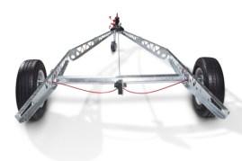 Alle Zubehörteile für Caravans von Alko lassen sich auch am Vario X Chassis montieren. (Quelle: Al-Ko)