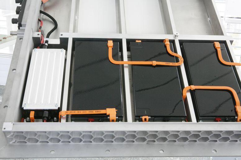 Systemtechnik Batteriekasten in Leichtbau (Quelle: Handtmann)