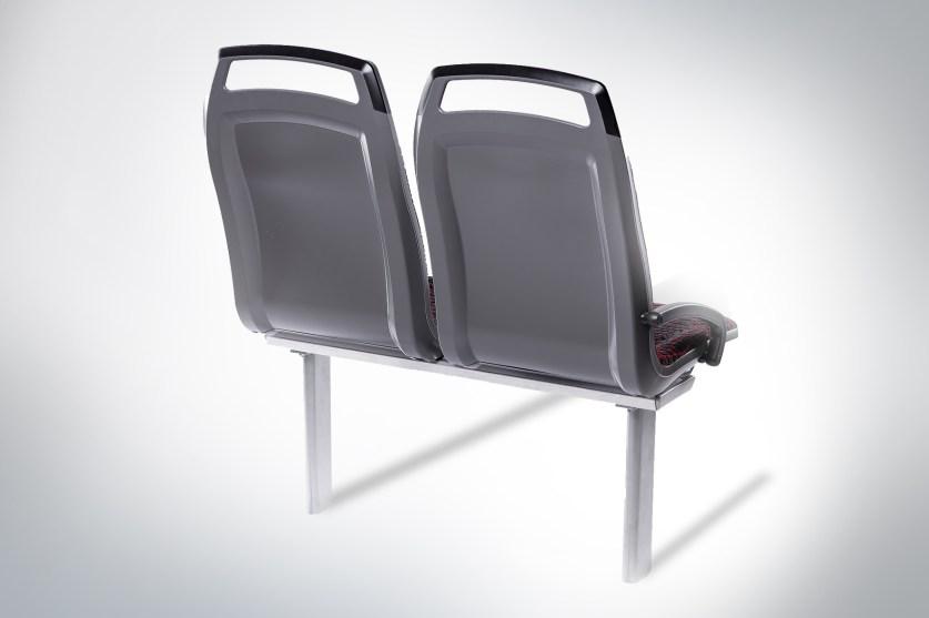 Das Sitzsystem Citos wird aus flammgeschütztem Akromid B28 GF 25 9 (6360) hergestellt. (Quelle: Akro-Plastic)