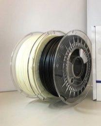 Die Produktreihe Luvocom 3F Filament umfasst vier Produkte, davon zwei faserverstärkte Varianten. Quelle: Lehvoss