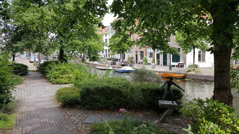 Pilgrim Fathers wandeling in Leiden