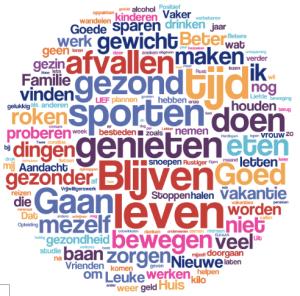 Voornemens 2017; Bron Rapport Goede Voornemens Manuel Kaal