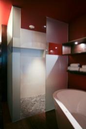 Interiørglass dusj