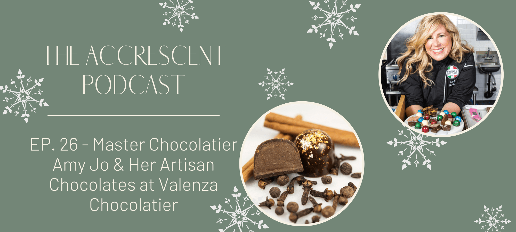 Master Chocolatier Amy Jo & Her Artisan Chocolates at Valenza Chocolatier