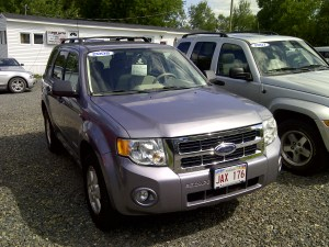 My 2008 ford Escape