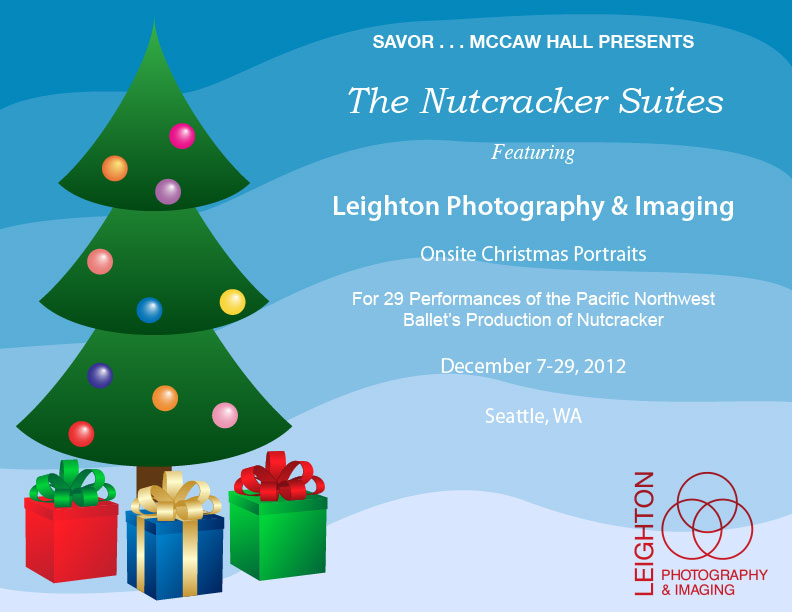 "We're at This Year's Pacific Northwest Ballet 2012 Production of ""The Nutcracker""!"