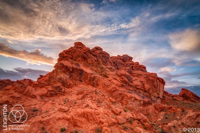 Natural Cave Above the Valley of Fire