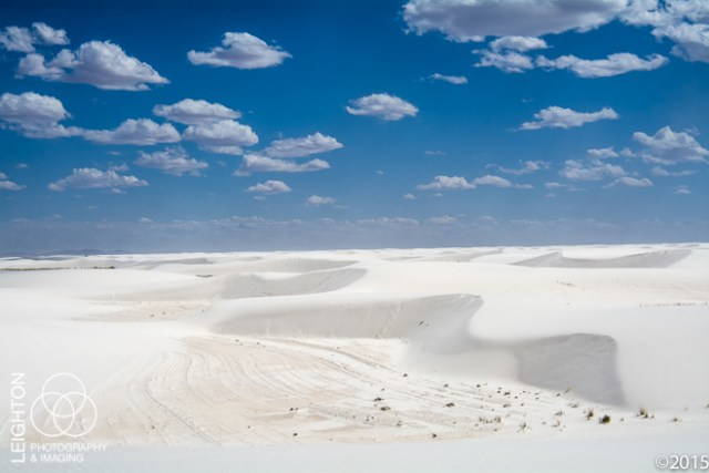 White Sands Dunes and Sky, New Mexico