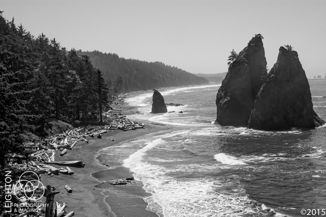 Sea Stacks and the Coastline (and a Local Quinault Legend!)