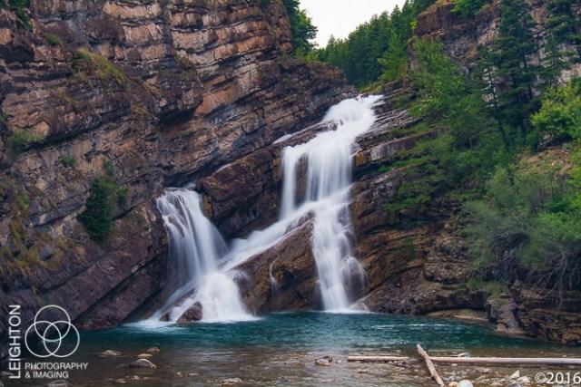 Cameron Falls ~ click to enlarge ~