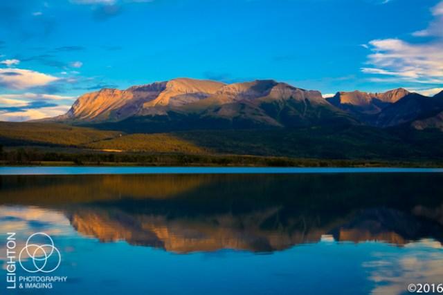 Lower Waterton Lake and Sofa Mountain