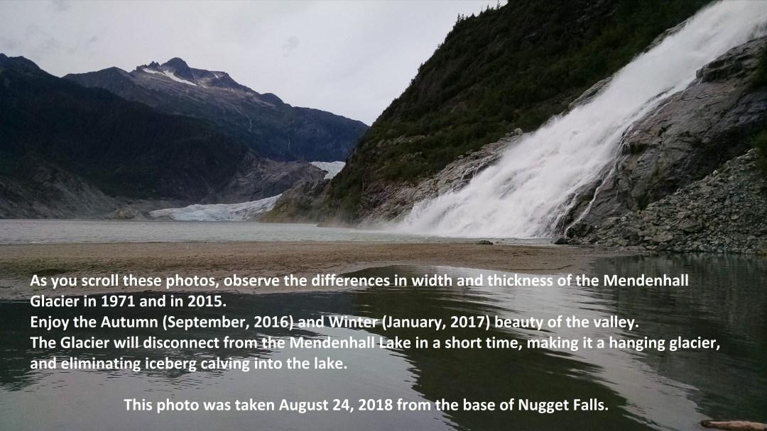 Mendenhall Glacier, 2018
