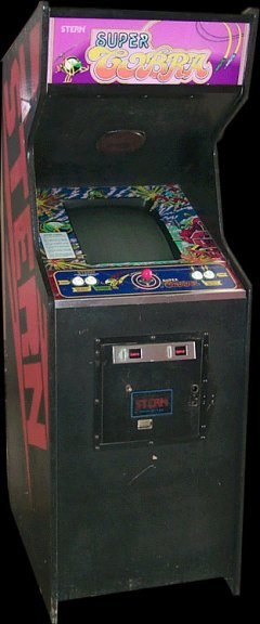 Super Cobra Arcade Cabinet