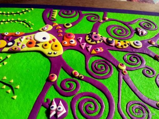 """Albero della Vita """"InSolito Viola"""" – Klimt project 2013"""