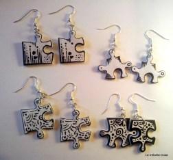 Orecchini Puzzle 2014