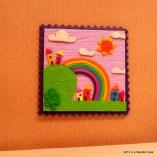 Cartoline dal Mio Mondo - Calamite Paesaggetti con Arcobaleno - Handmade with Fimo, without stamps - Le InSolite Cose 2014 (23)