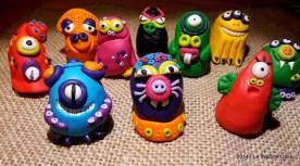 Mostri - Handmade Fimo Monsters - www.leinsolitecose.com 2014 (2)