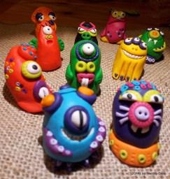Mostri - Handmade Fimo Monsters - www.leinsolitecose.com 2014 (5)