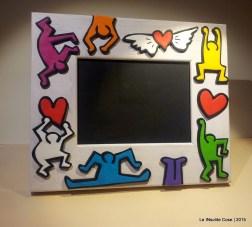 Cornice Portafoto Keith Haring - Una richiesta - Le INsolite Cose 2015 (2)