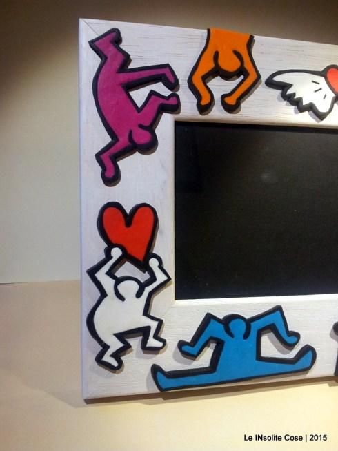 Cornice Portafoto Keith Haring - Una richiesta - Le INsolite Cose 2015 (4)