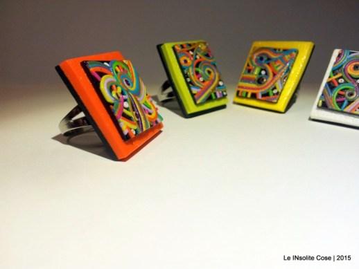 Anelli quadro - Pentagonia colorata 2015 - Le INsolite Cose (5)