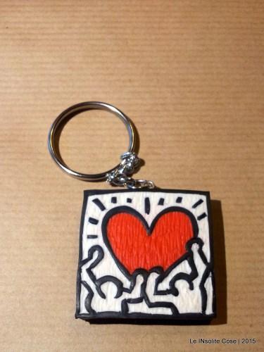 Portachiavi Keith Haring, una richiesta