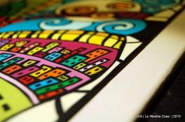 GAIA - Quadro in paste polimeriche realizzato a mano - in VI concorso artigianato artistico Sapere delle Mani di Nazzano - Le INsolite Cose 2015 (6)