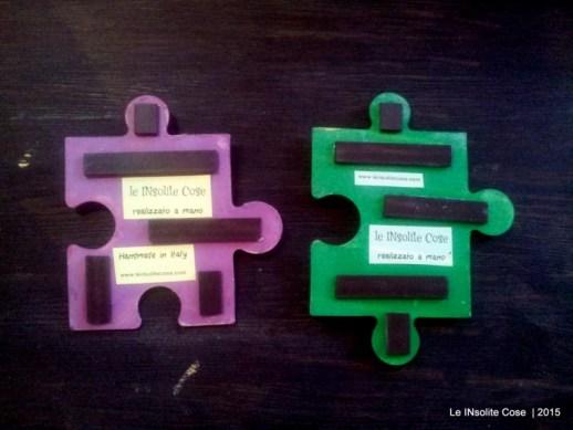 Calamite personalizzate Puzzle e Cuori per Rossella e Alfonso - Le INsolite Cose 2015 (4)