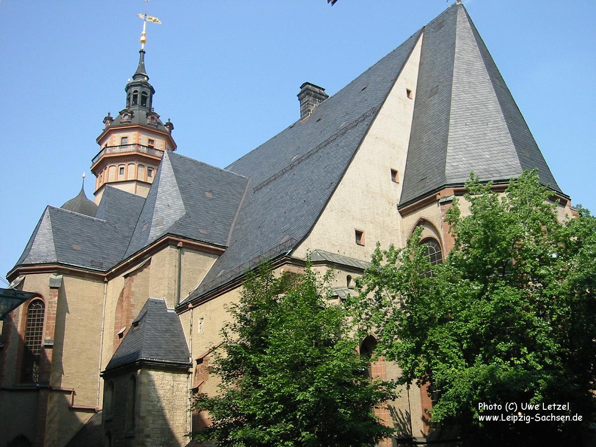 Nikolaikirche Leipzig  Die grte Kirche in der Stadt Leipzig