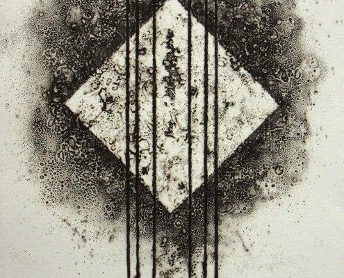 Peter Brunko, Rückweg, 2016, Tiefdruck, 39 x 29,5 cm