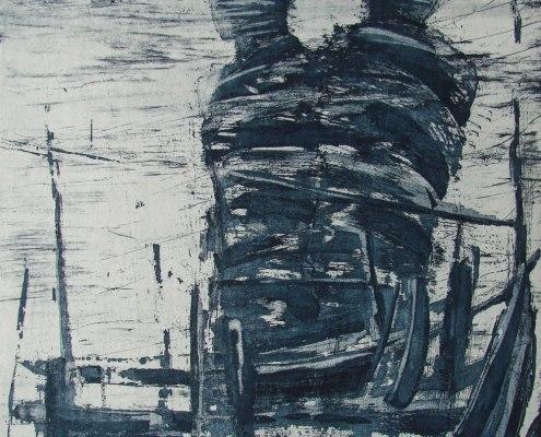 Madeleine Heublein, Passage II, 2016, Radierung, 40 x 30 cm