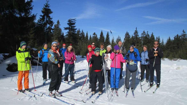 Skilanglauf-Trainingslager