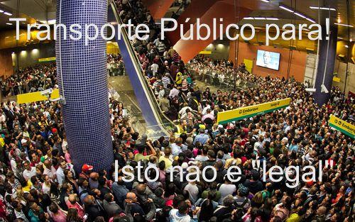 Greve no Transporte Público fere os princípios da Administração Pública