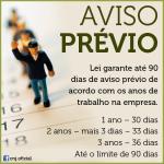 Aviso Prévio – Saiba como funciona