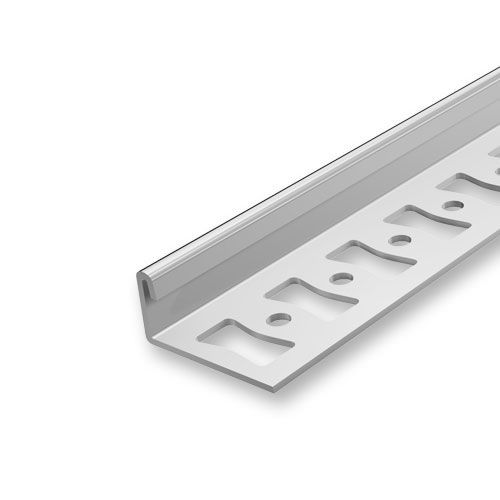 profile pour carrelage en aluminium bord de finition argente 8 mm