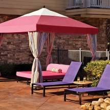 Commercial Pool Lounge Cabana Outdoor Patio