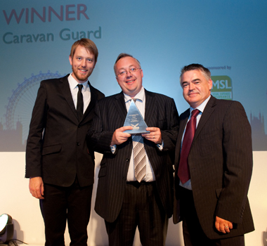 Chris Nettleton accepts one of our awards
